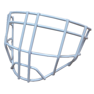 hackva cheater goalie cage white