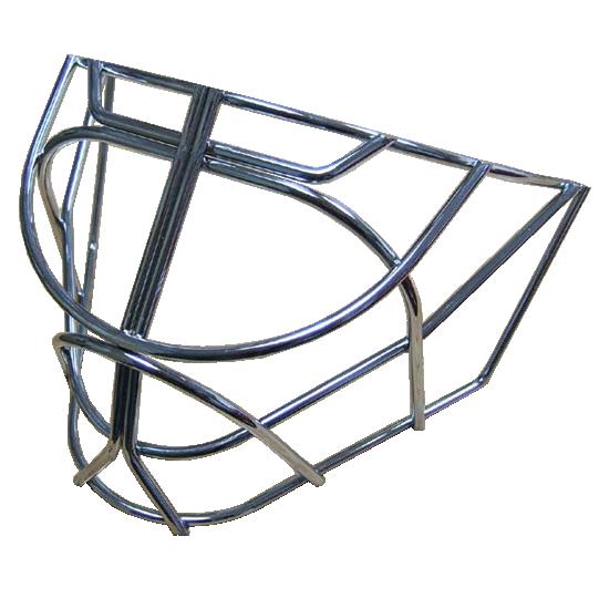 heaton pro cat eye goalie cage chromed steel