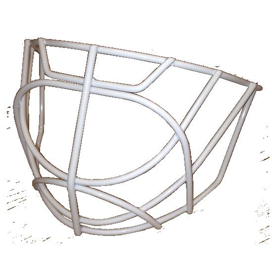Reebok Pro Cat Eye White Stainless Steel Goalie Gage